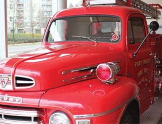 Port Moody Fire Truck