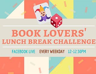 Book Lovers' Lunch Break Challenge Image