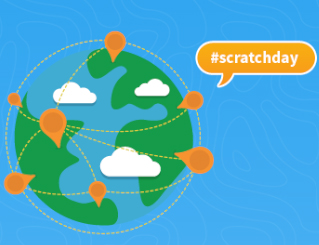 Scratch Day logo and graphics